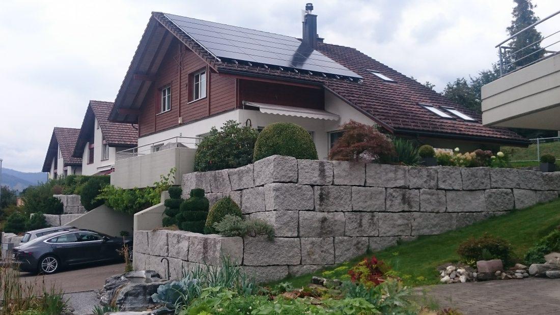 PVA, Photovoltaik, Solaranlage, Ebnat-Kappel, Toggenburg, Speicher, Aufdach