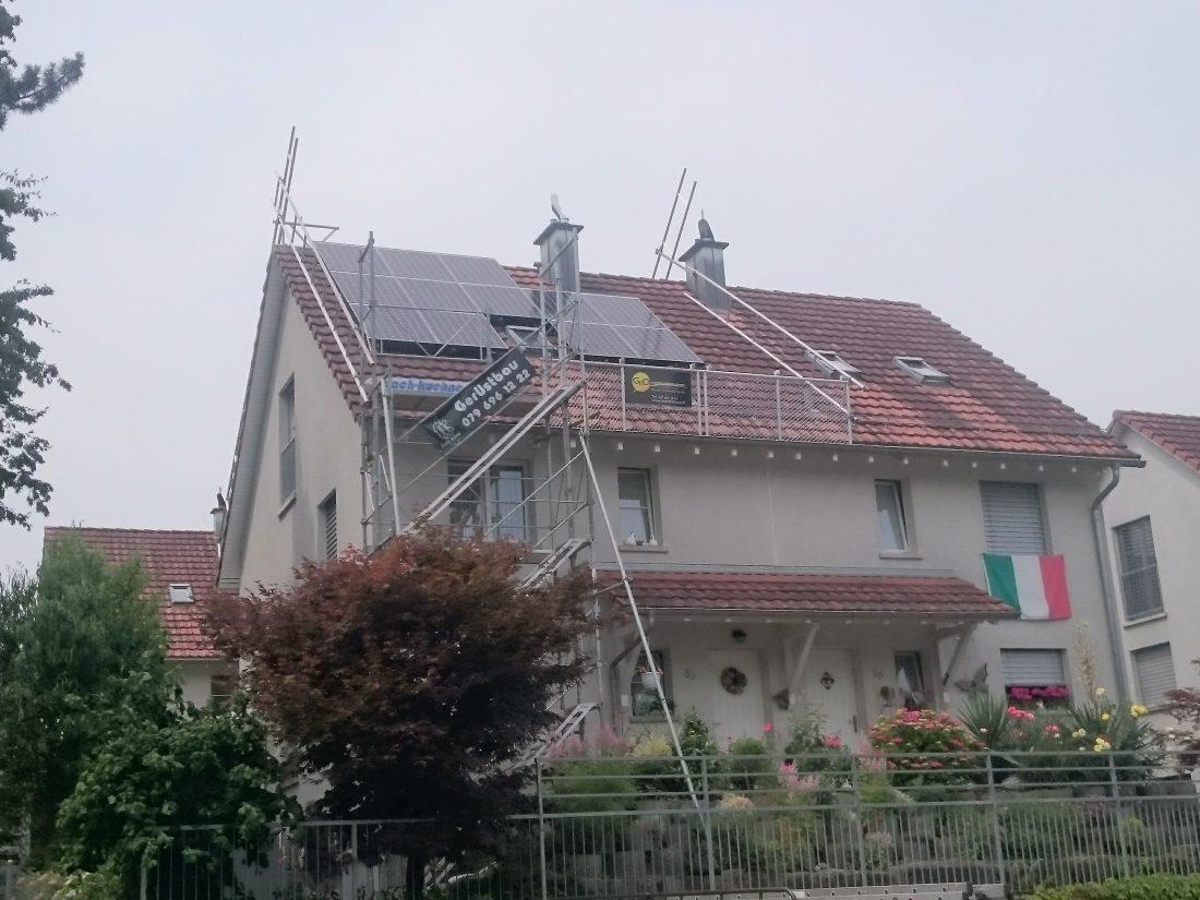 Photovoltaik, G&O sunsolutions GmbH, Gossau, Gewerbepark 11, 9615 Dietufrt, Solarenergie, solarstrom, Batteriespeicher, Aufdach, Indach, Dachsarnierung